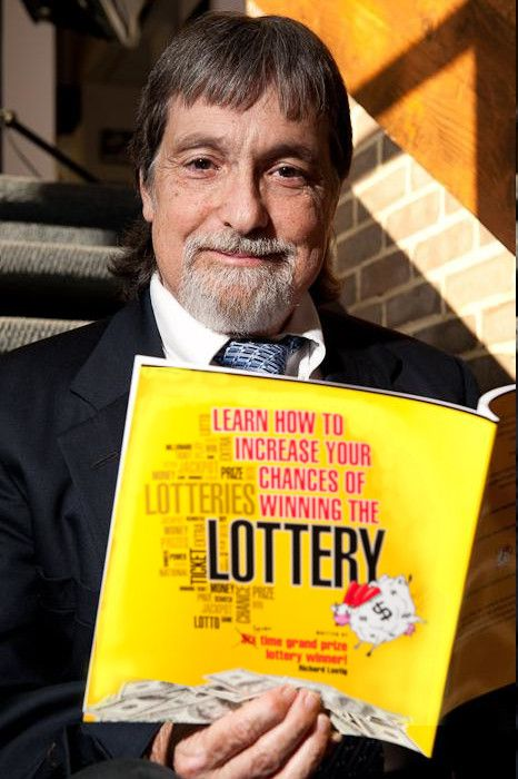 How to win the lottery book from 7-time winner   A man wins