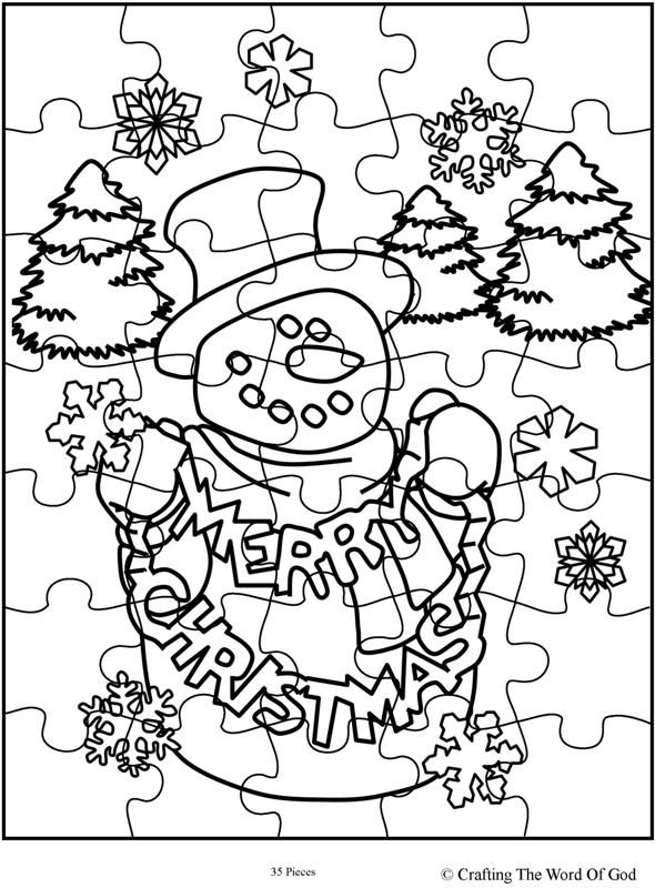 Christmas Puzzle 2 (Activity Sheet) Activity sheets are a