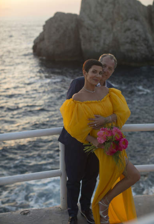 mariage de cristina cordula