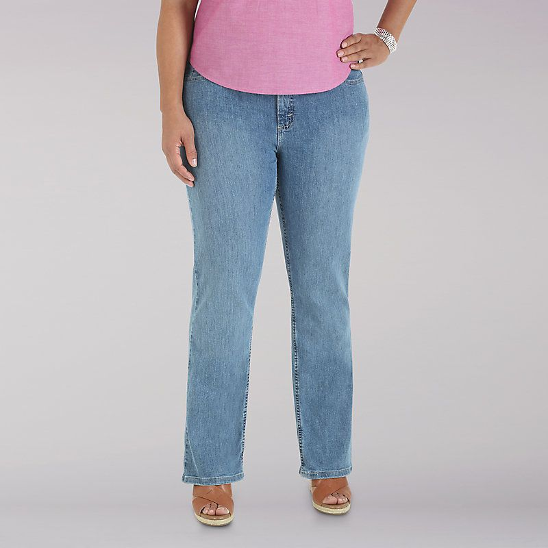 7ef5fb4b8a817 Women s Lee Riders Relaxed Fit Straight Leg Jeans - Plus (Size 18W x ...