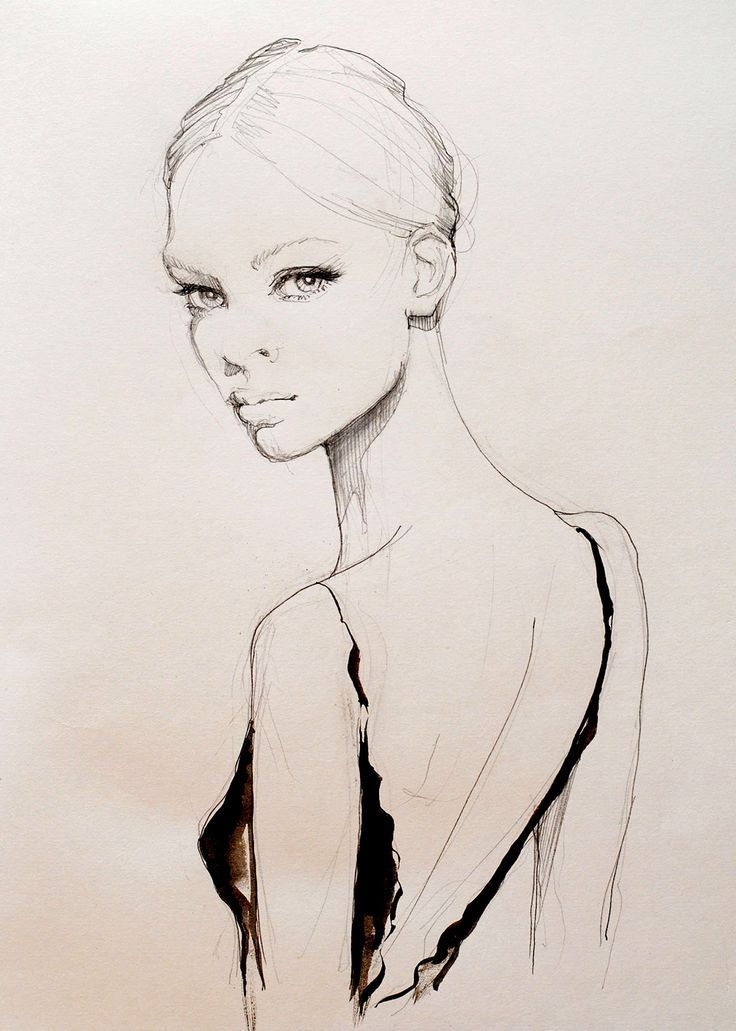 картинки модели рисовать карандашом сопротивлялись умным наставлениям