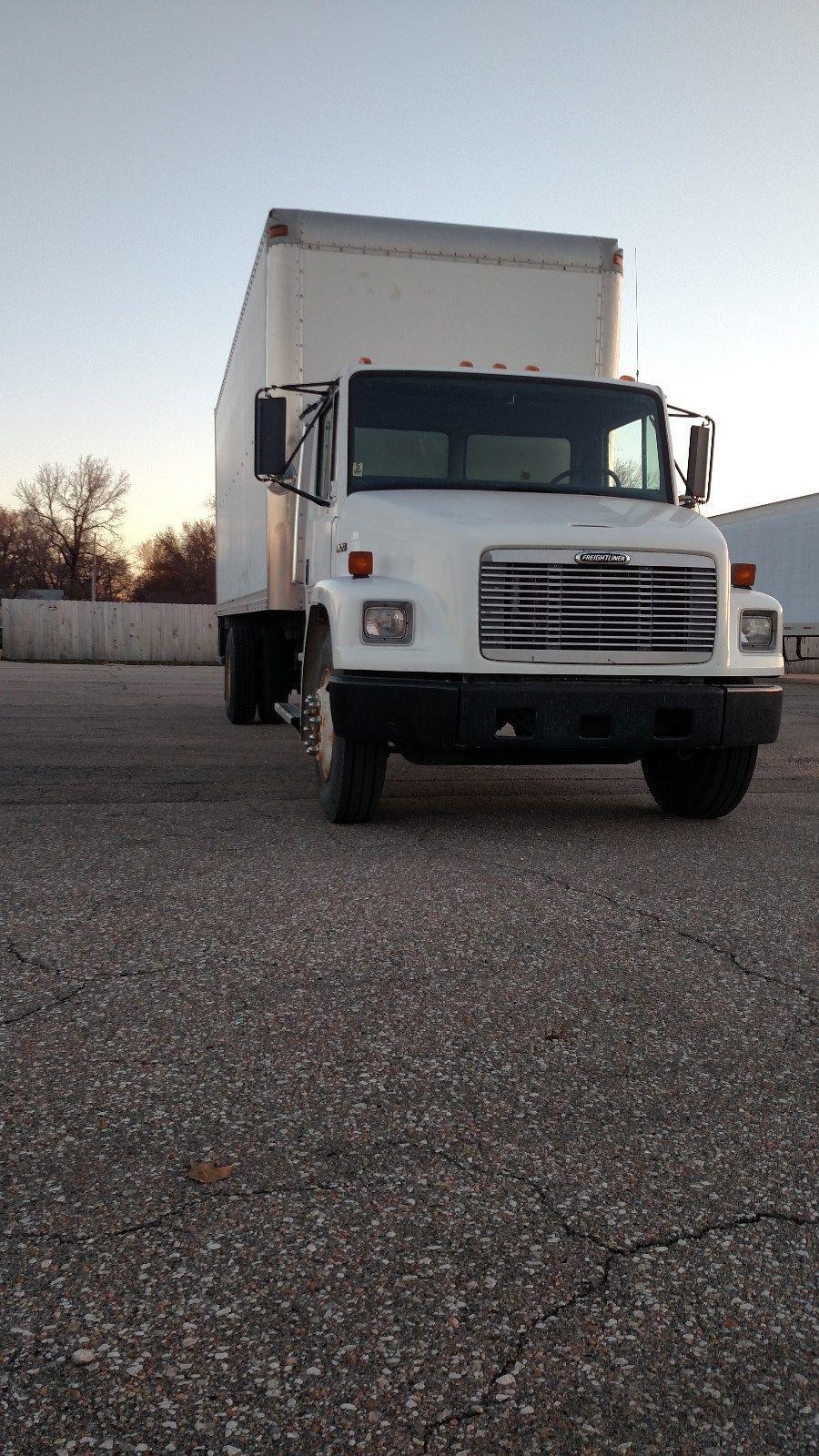 Routine maintenance done 1998 Freightliner FL70 truck