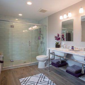 Lilac Bathroom Ideas