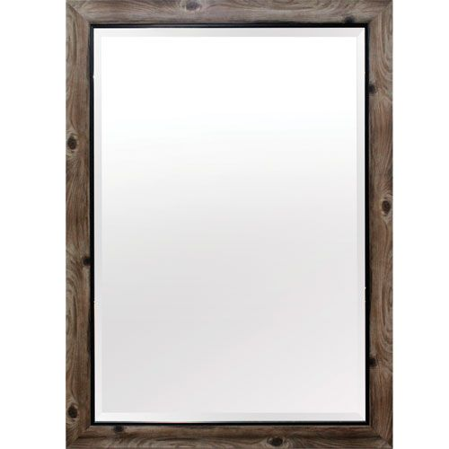 Yosemite Home Decor Gray And Black 43 Inch Tall Framed Mirror Mint011 Bellacor Framed Mirror Wall Frames On Wall Mirror Wall