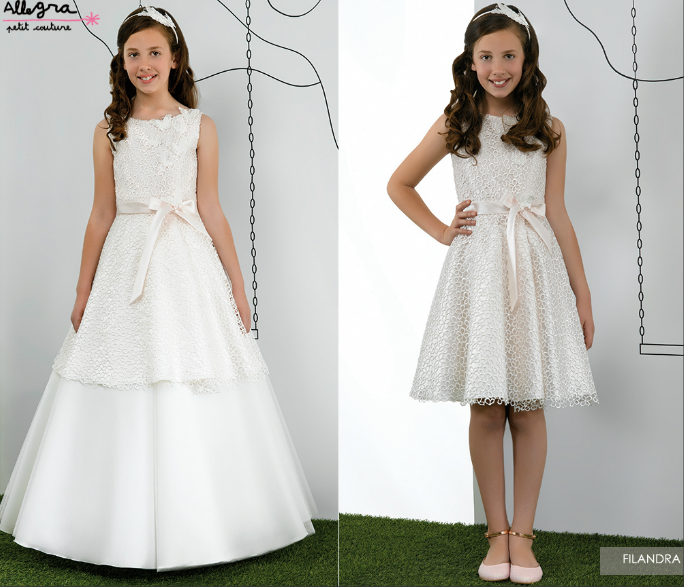 Miquel suay vestidos comuni n 2015 allegra first holy communion dress christining kommunion - Festliche kleider kommunion ...