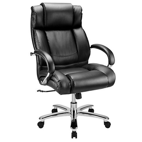 Workpro 15000 Series Big Tall High Back Chair Blacksilver By Office Depot Officemax 405 High Back Chairs Executive Chair Chair