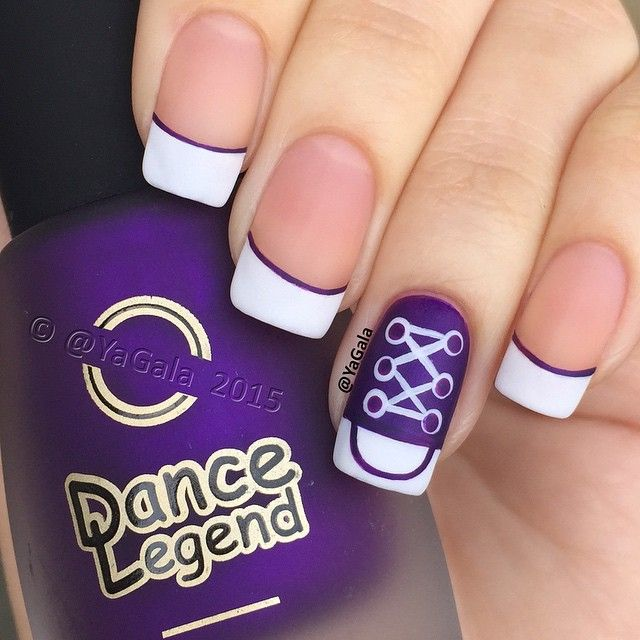 Converse Nail Art Video On My YouTube Channel, Link In My