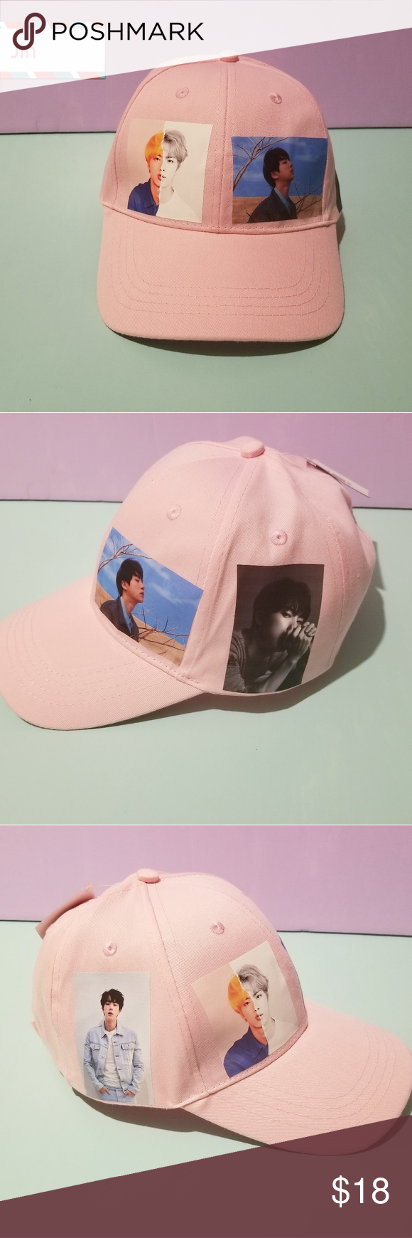 BTS HATS JIN Everyone needs one simple cap that you can wear that represents who…