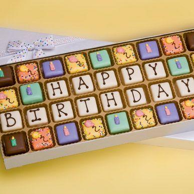 Happy Birthday Hayley Mini Heart Tin Gift Present For Hayley WIth Chocolates