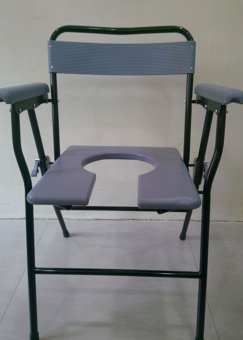 Padded Shower Chair With Cut Out Seat http://www.wheelchairprice.in ...