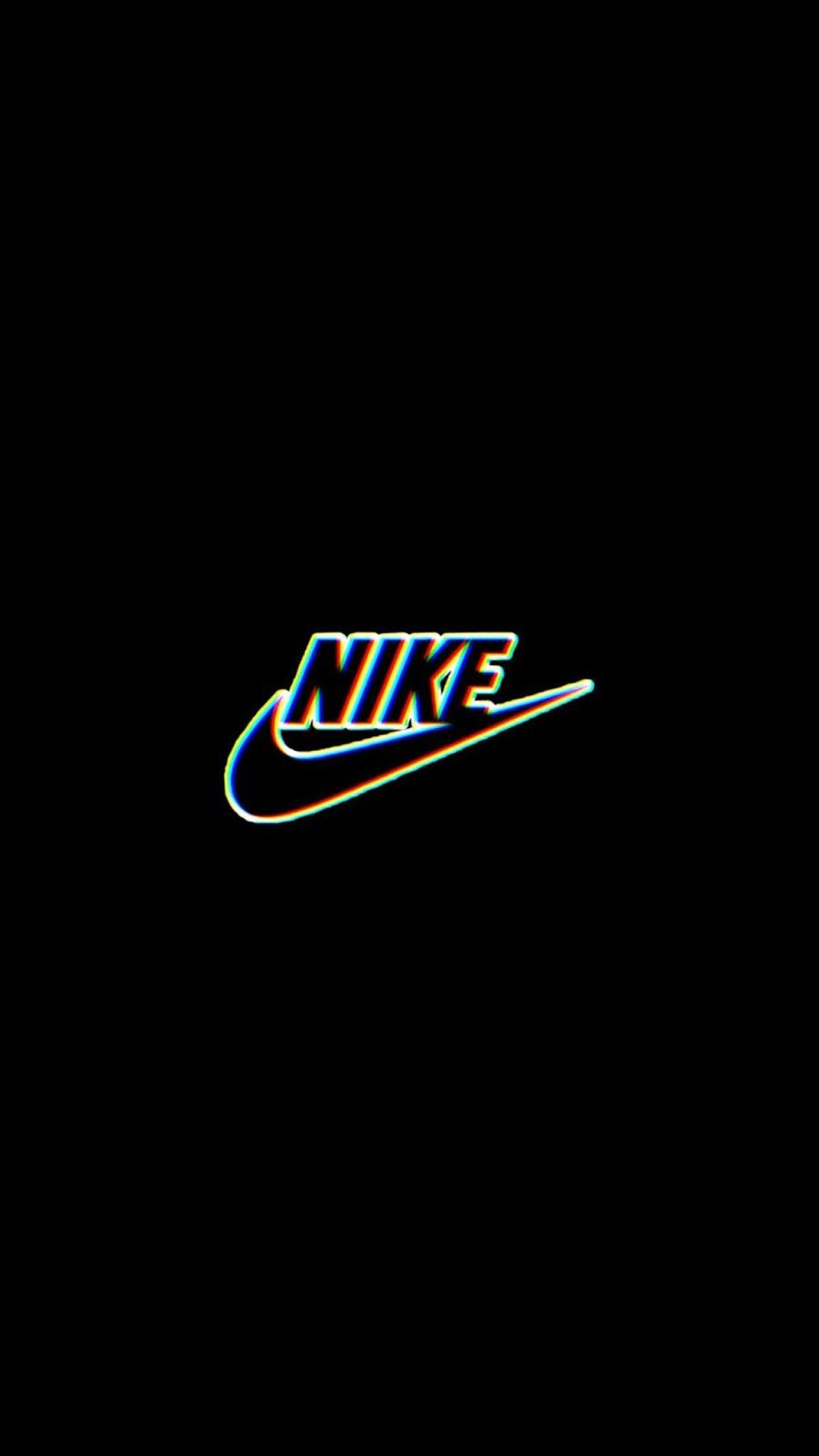 Nike Logo Hd Wallpapers For Iphone X Iphone Xr Iphone 11 Etc In Glitch Wallpaper Nike Logo Wallpapers Edgy Wallpaper