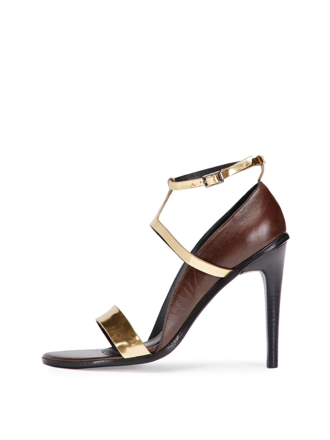 Anouk Mini T-Strap Sandal by Tibi at Gilt