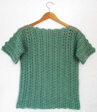 Easy Crochet Ladies Summer Top Pdf By Patternsbyspook On Etsy