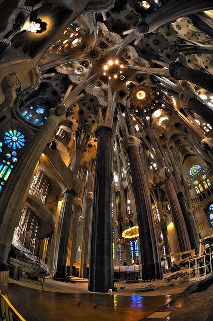 gaudi cathedral barcelona gaudi architecture pinterest the o 39 jays barcelona and sagrada. Black Bedroom Furniture Sets. Home Design Ideas