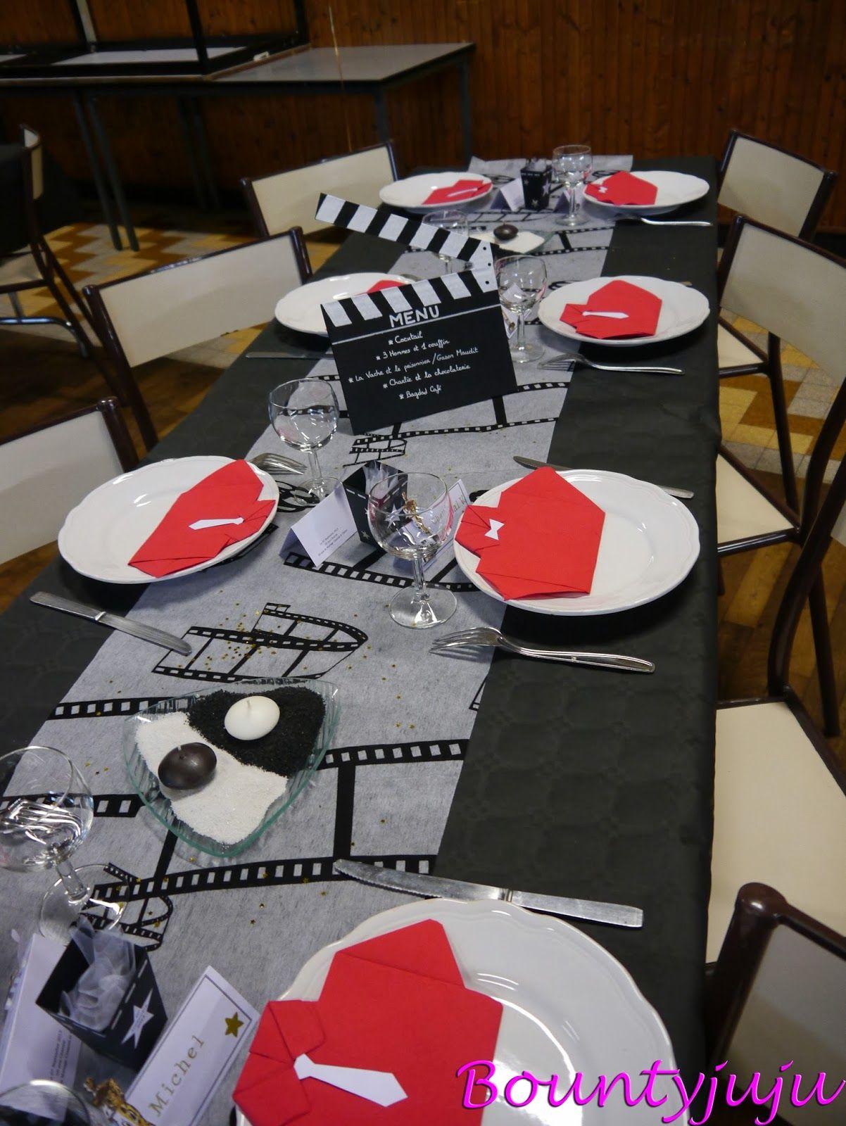 Loupiots Et Cie Deco Sur Le Theme Cinema Deco Theme Cinema