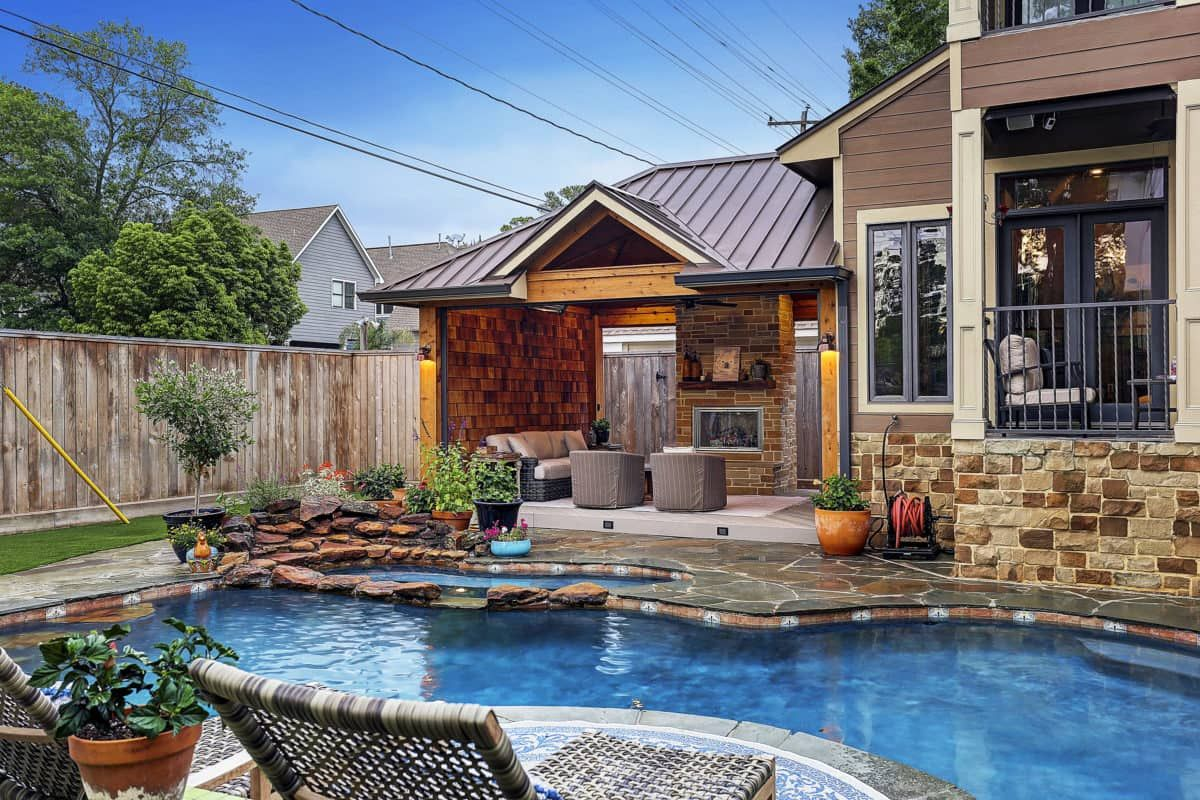 Outdoor fireplaces fire pits houston dallas katy