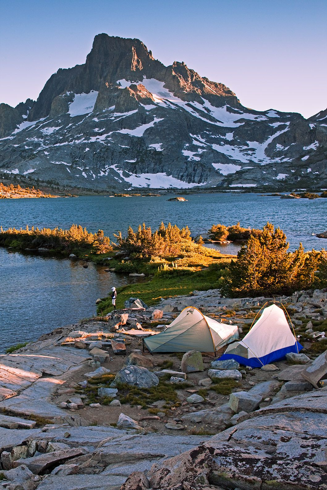 Back Country Camping at Thousand Island Lakes, Ansel Adams