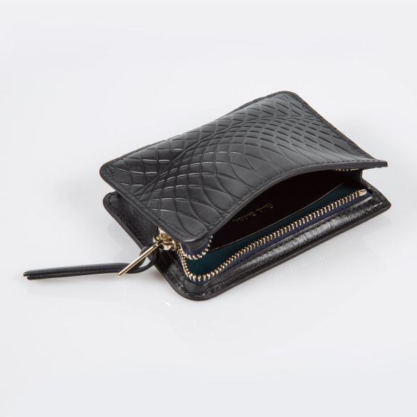 Paul Smith No.9 Black Leather Wallet Pouch