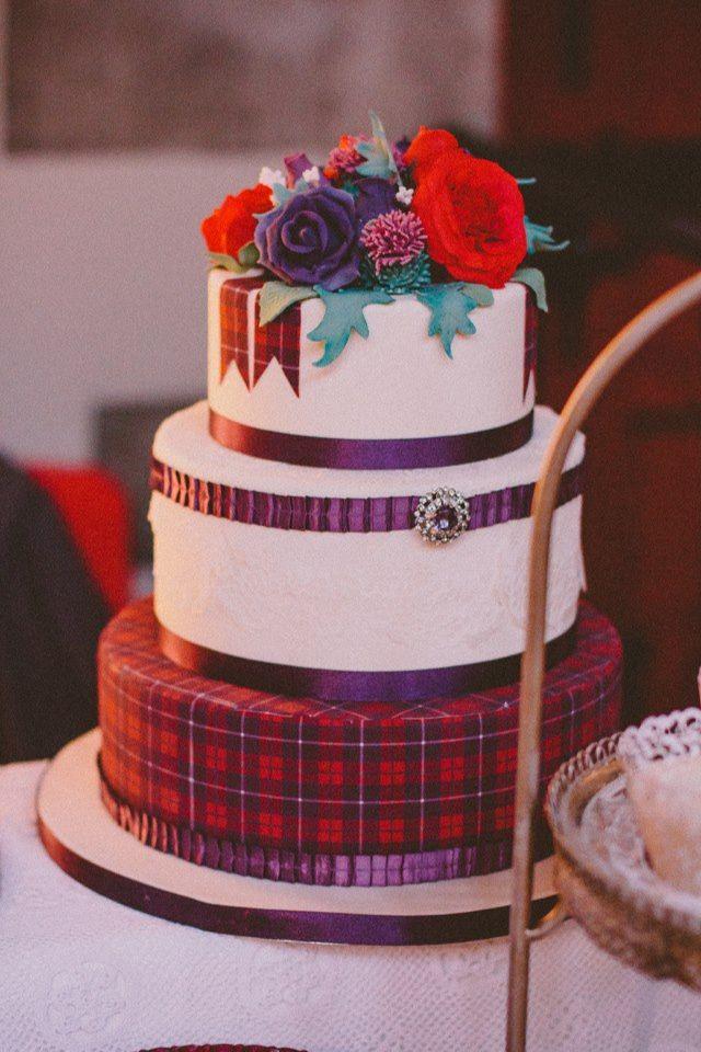 Scottish Cake Love The Tartan In 2019 Scottish