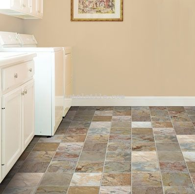 Indian Autumn Slate Tile | Slate tile, Slate tile floor