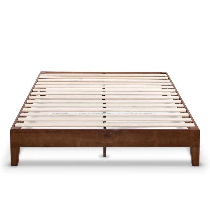 Harney Platform Bed Frame Wood Platform Bed Solid Wood