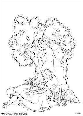Desenhos E Riscos Alice No Pais Das Maravilhas Com Imagens