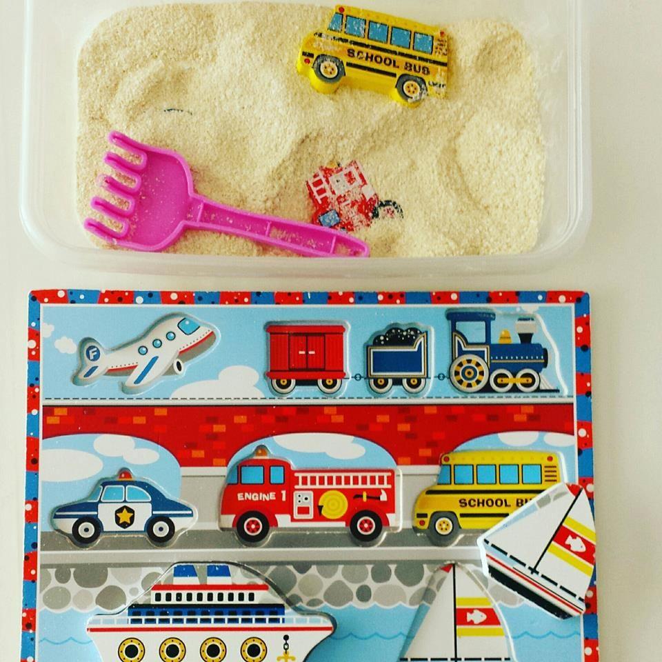 Pink Polka Dots & Pre-K: Transportation Theme Recap - Tot School
