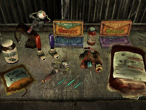 Chems and Meds Re-Texture Pack at Fallout3 Nexus - mods and