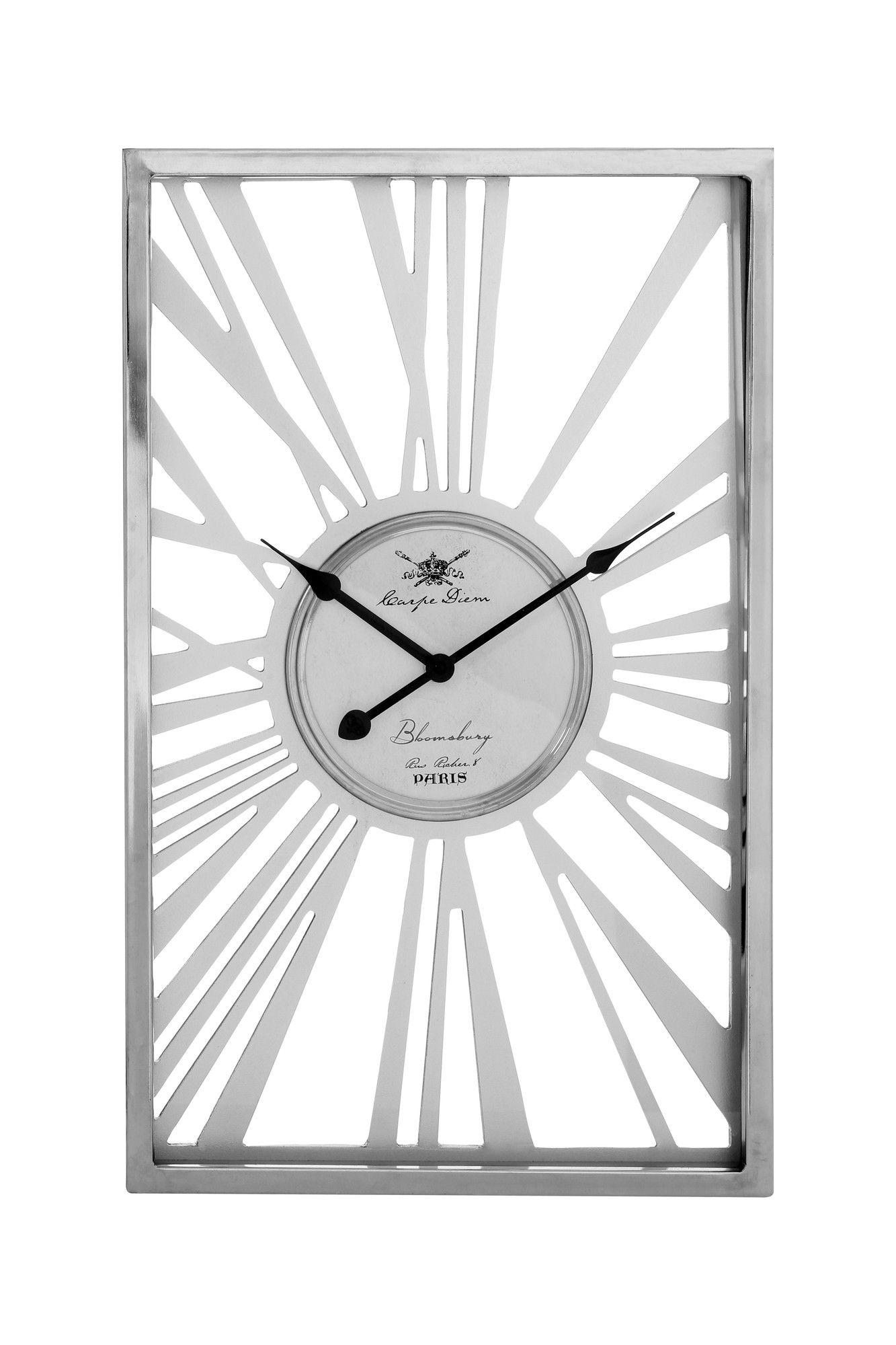 skeleton rectangular wall clock wf best wall clocks on wall clocks id=50042