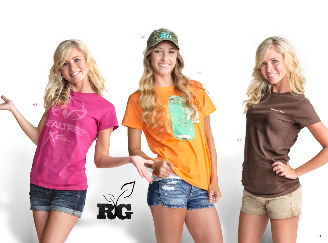 Realtree girl tshirts and cap camo and country clothing for