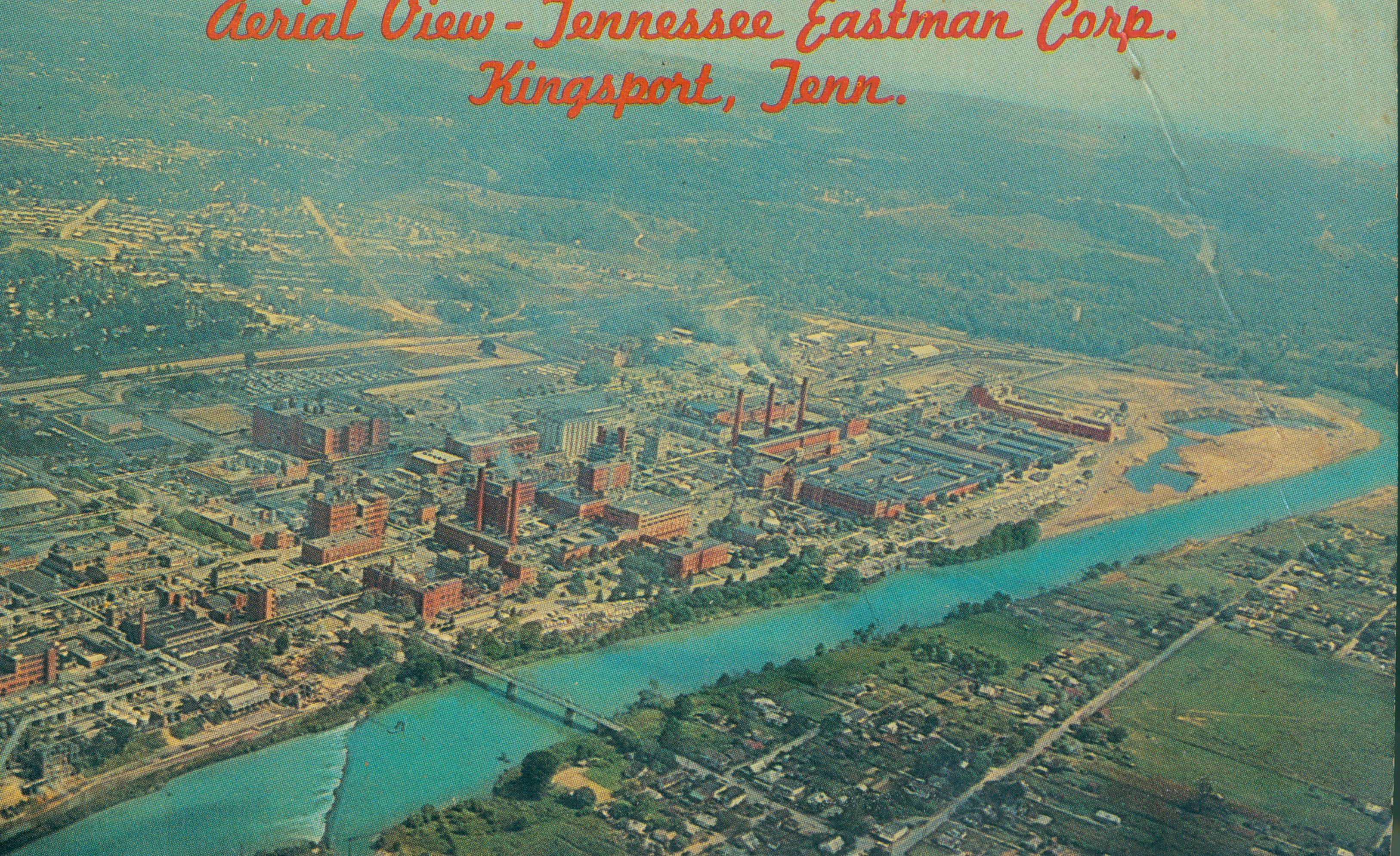 Aerial view of Tennessee Eastman Corporation | Eastern