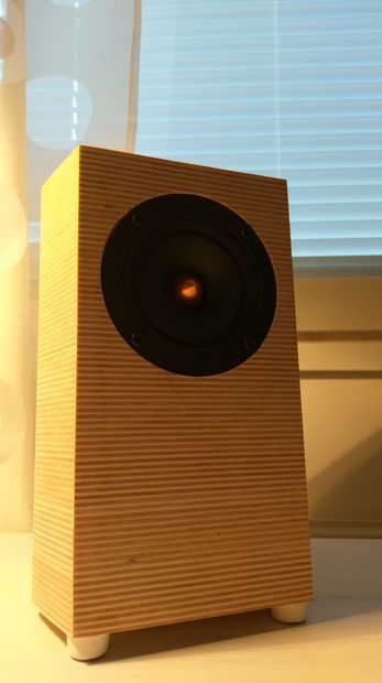 Build Yourself Some Handsome New Computer Speakers Monitor Home Stereo