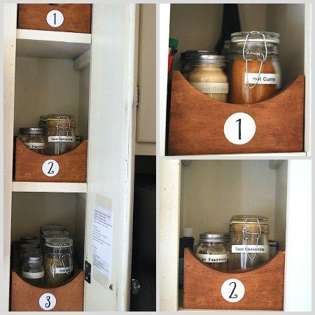 Spice Rack Plano Spice Cabinet Cleanup Before And After  Spice Shelf Organizing
