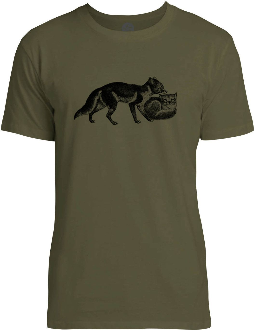 Foxes black mens fine jersey tshirt products pinterest