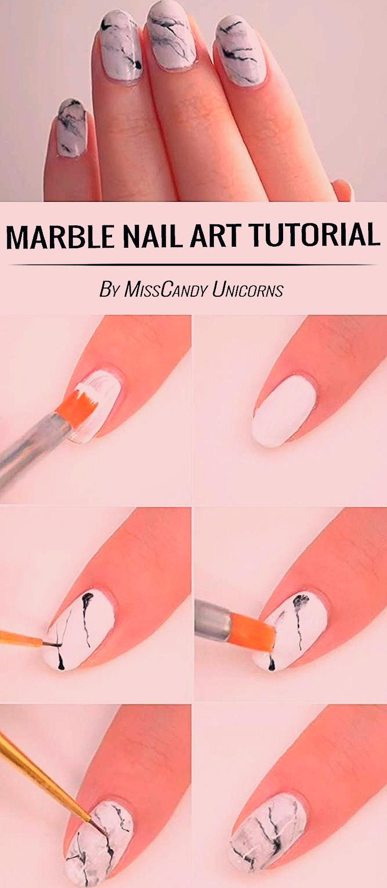 40+ Awesome Easy DIY Nail Art Ideas For Beginner #diynailart