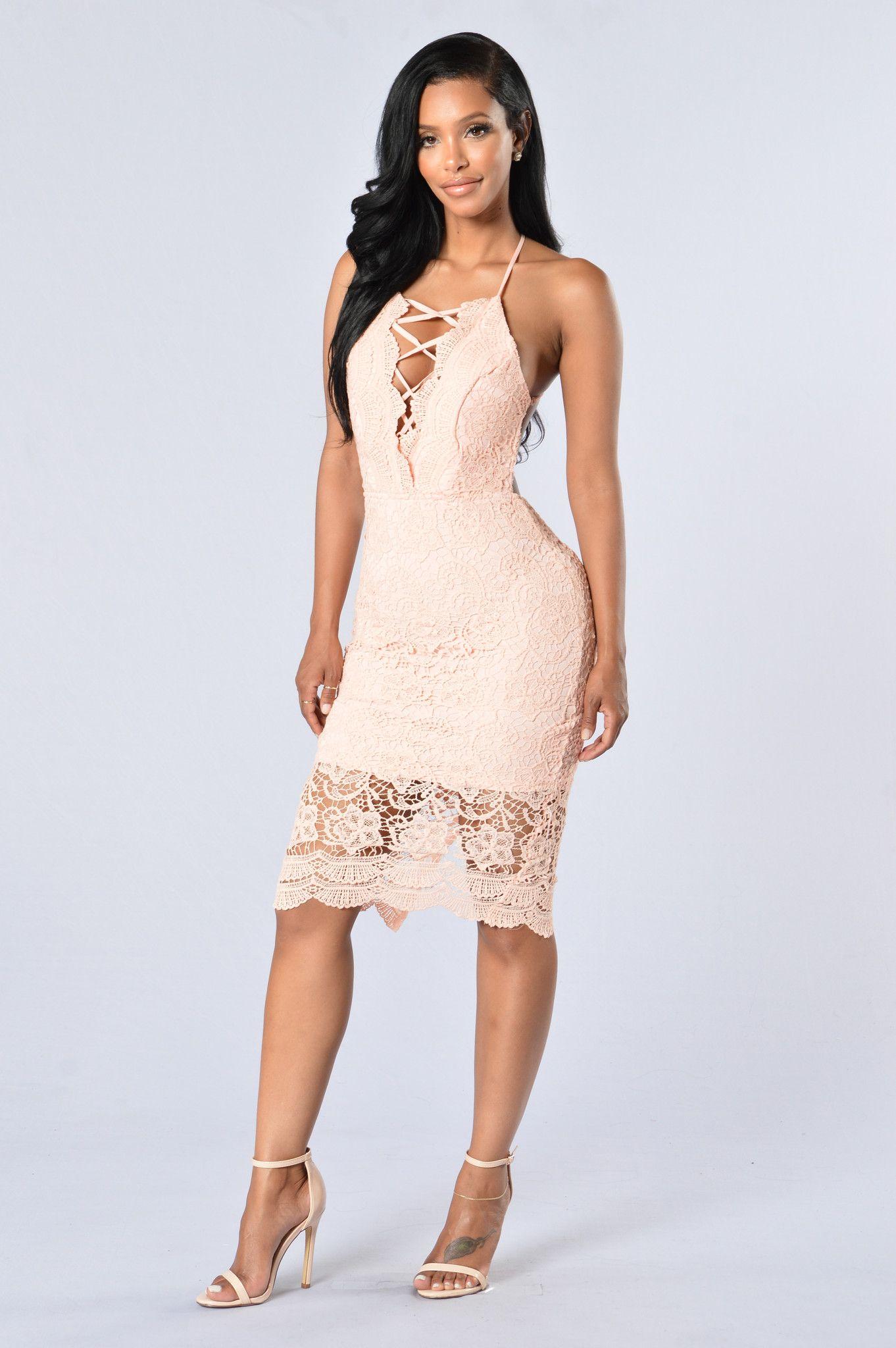 Posey Dress - Pink