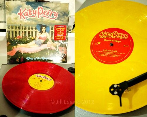 One Of The Boys Vinyl Deluxe Katy Perry Music Record Katy
