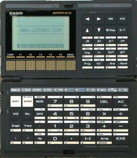 Calculadora Casio Fc Financial Consultant  Vintage Tech