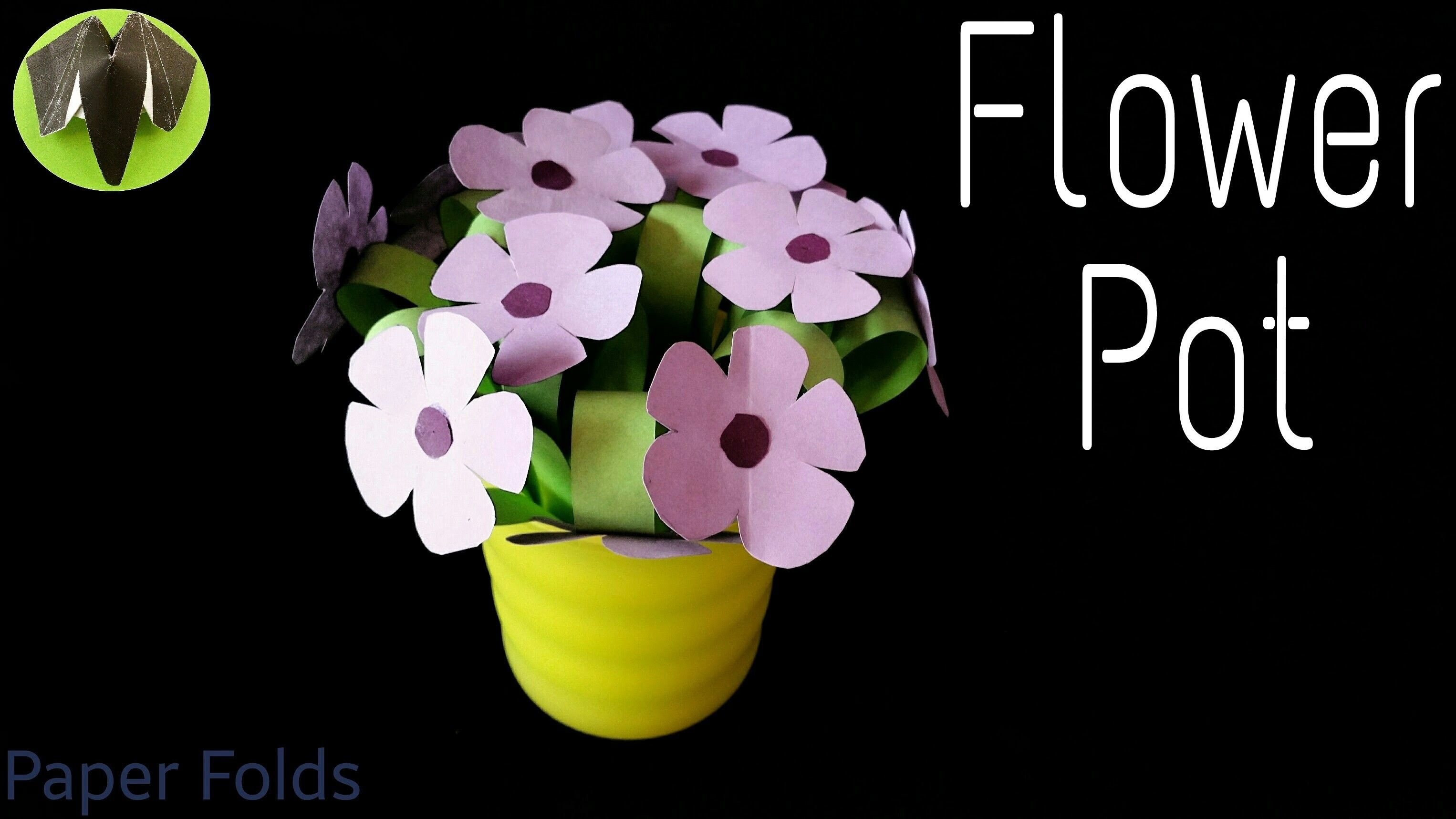 How To Make An Easy Flower