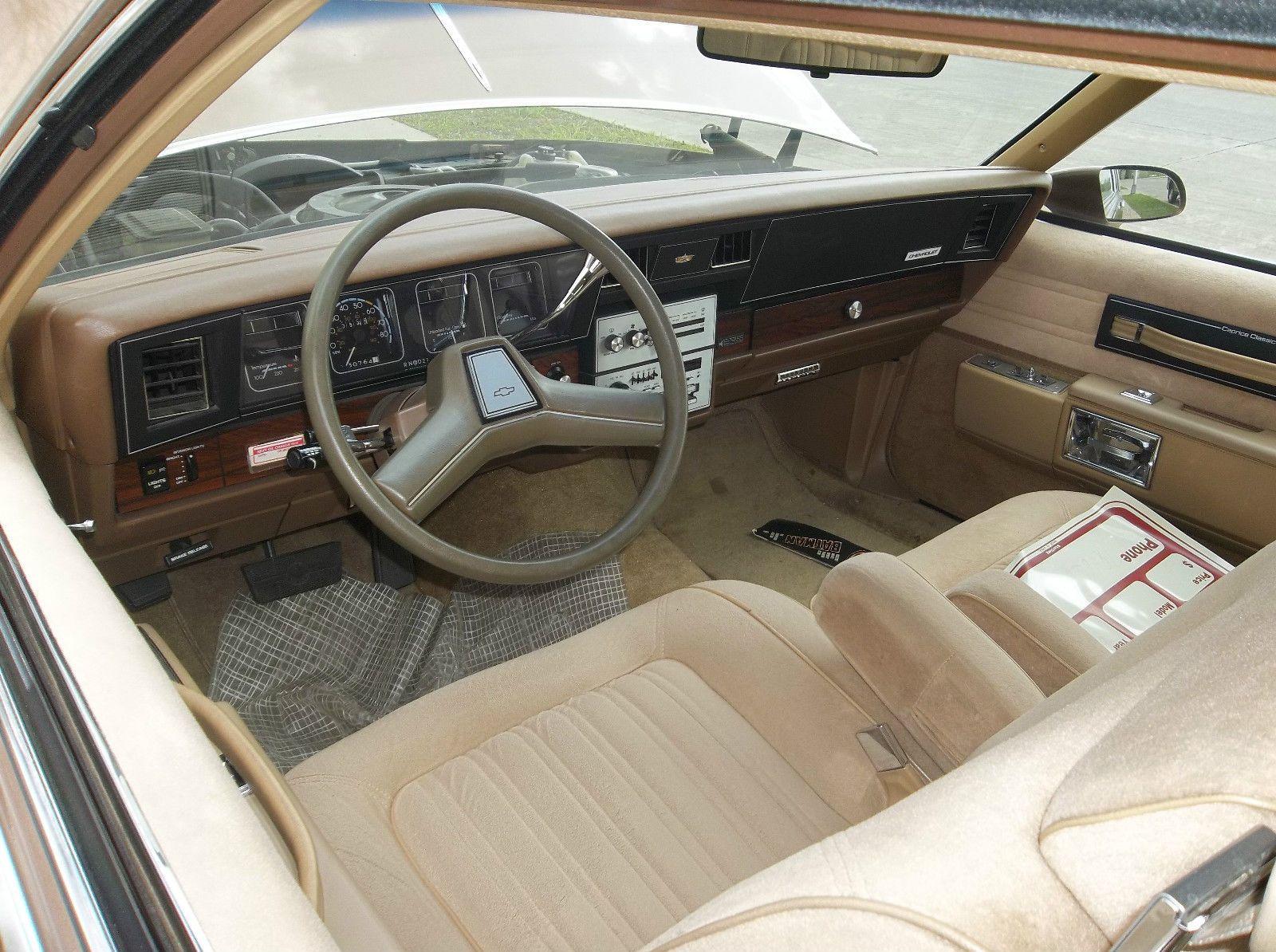 1986 chevrolet caprice 2 door landau sport coupe in dark chestnut 30 000 miles caprice classic classic interior chevrolet 1986 chevrolet caprice 2 door landau