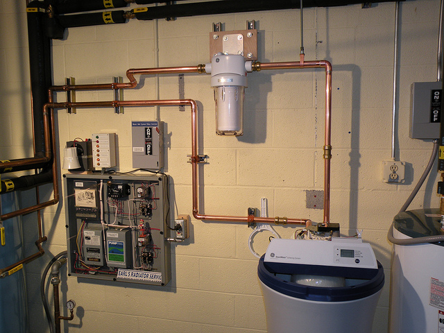 Completed Water Filter And Water Softener Installation Water Softener Water Heater Installation Water Heater