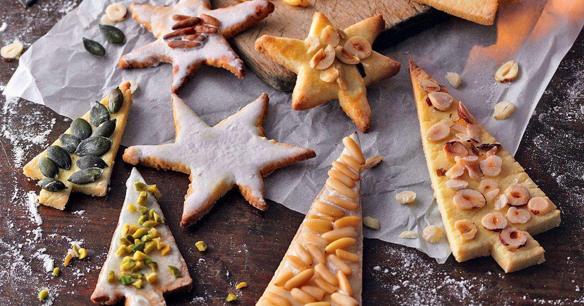 Nichts geht über die klassischen Weihnachtsplätzchen aus Mürbeteig. Dank ihre…  – Backen