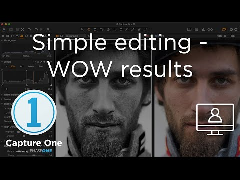 1 Capture One 12 Live Edits Simple Editing Wow Results Youtube Capture Image Editing Edit
