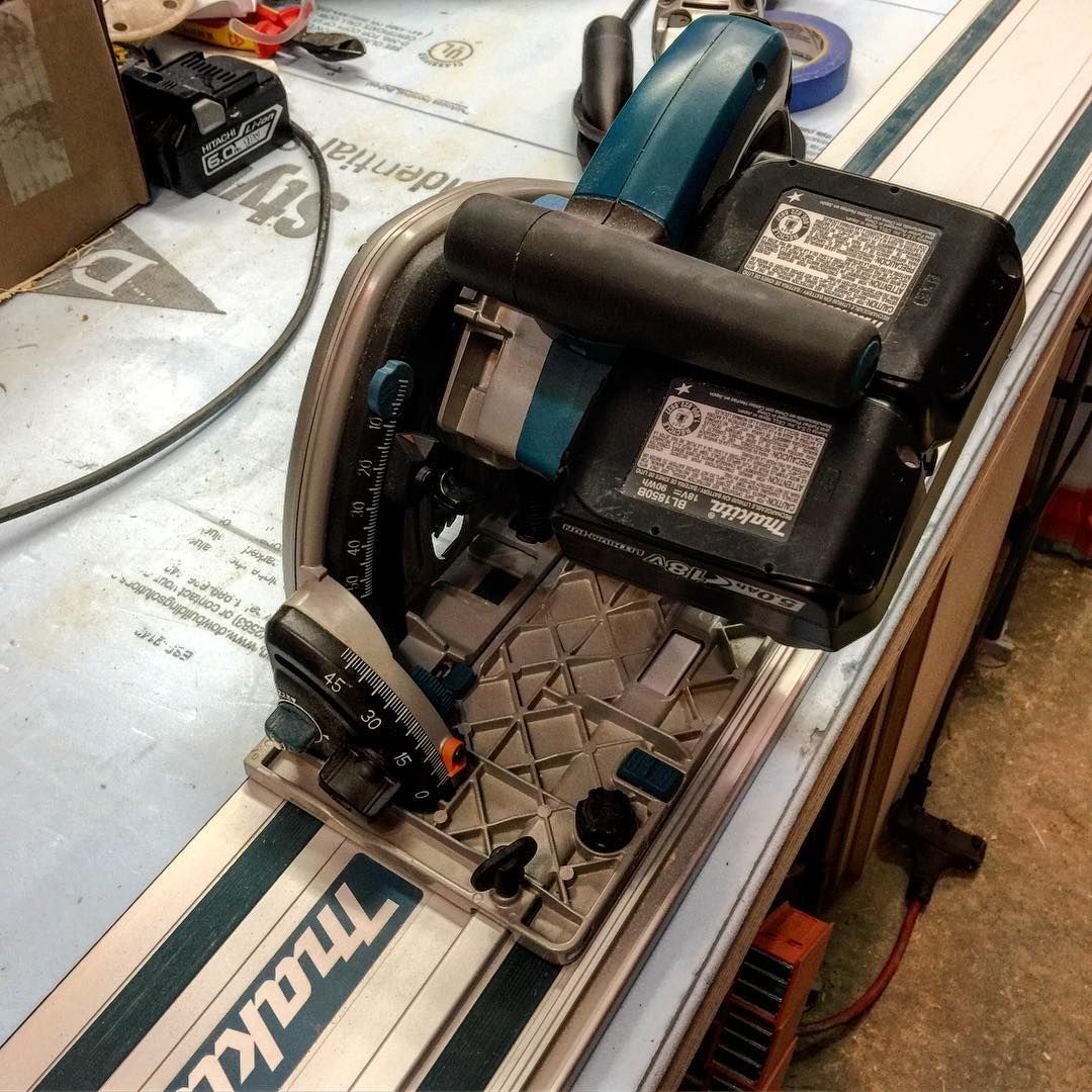 Makita Cordless Track Saw