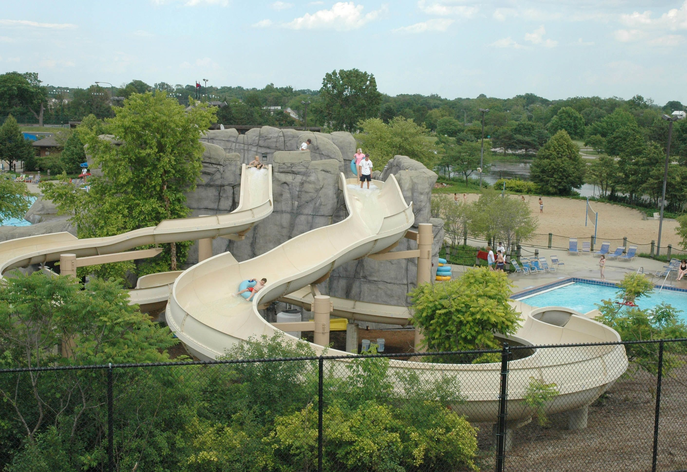 Troy Family Aquatic Center Outdoor, Outdoor pool