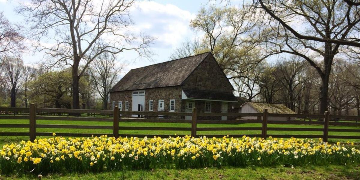 Pennsbury Manor Morrisville, PA rural wedding venue in