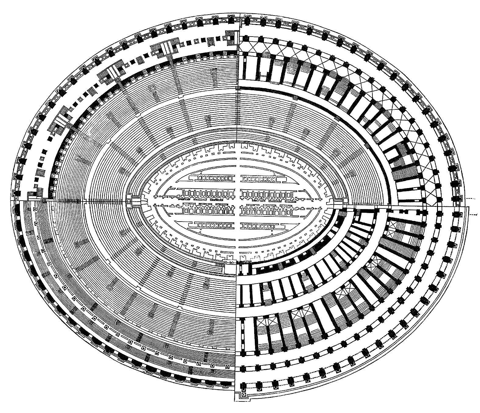 Colosseo Antiquite Grecque Grece Romain
