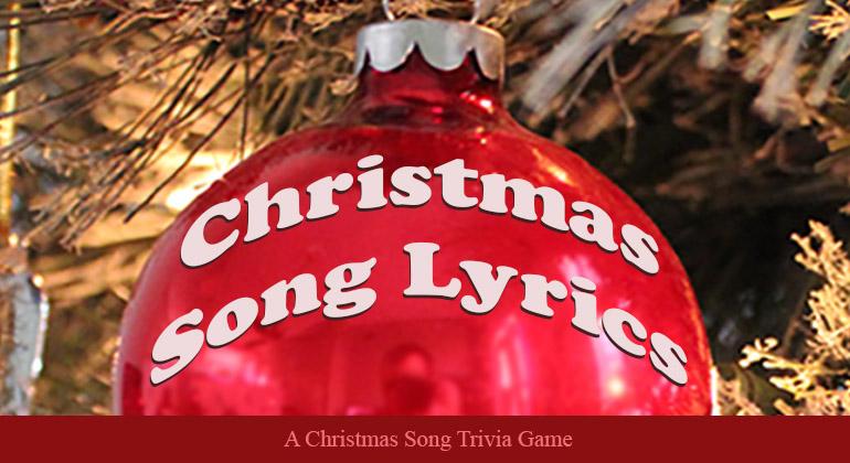 Christmas Song Lyrics Know It? Christmas songs lyrics