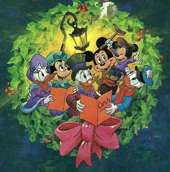 Navidad Dibujos Animados Navidenos Disney Imagenes Mundos Disney