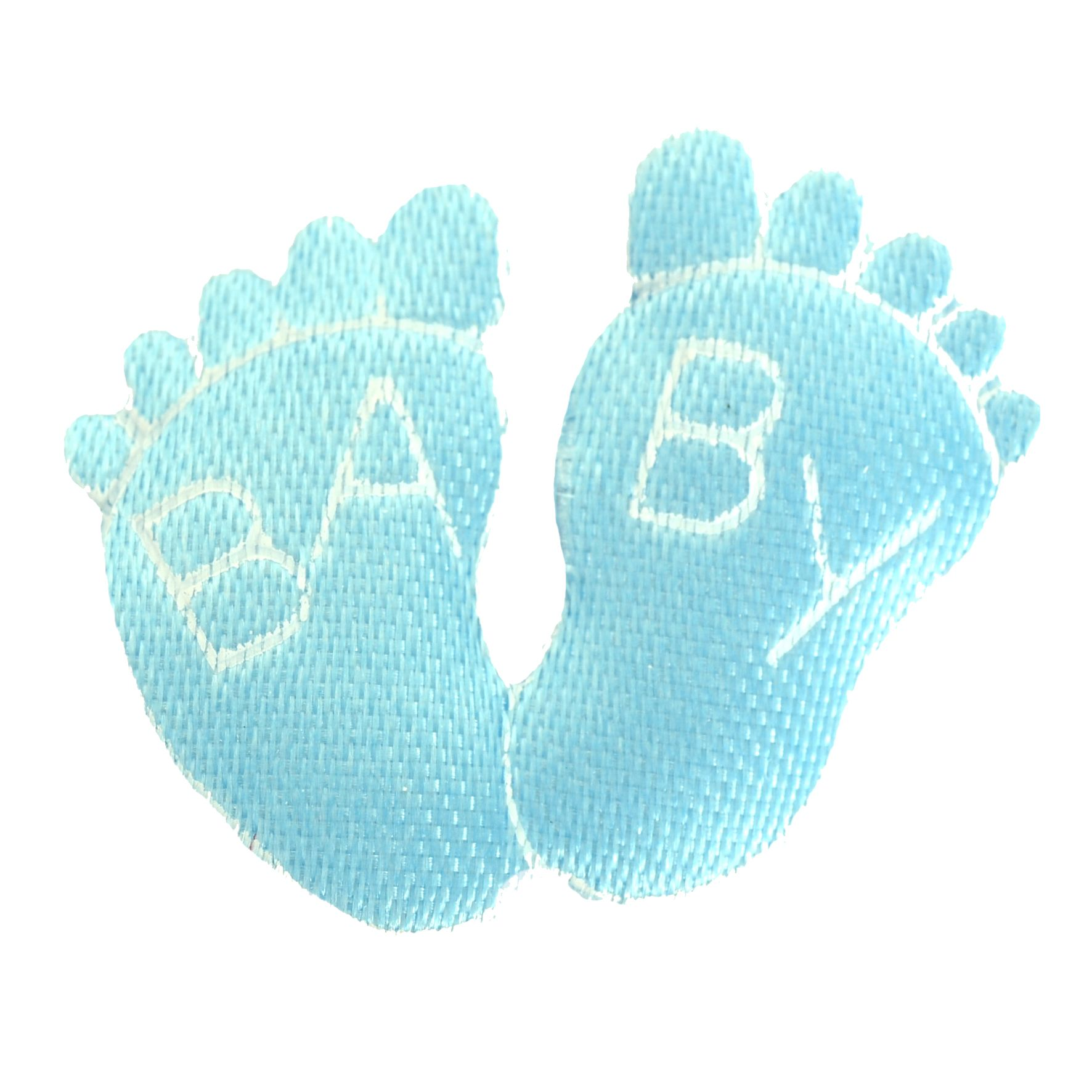 Babyfødder Lyseblå 3cm.